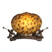 """<strong>Pumpkin with 3 Cherubs 5"""" H Table Lamp</strong> by Dale Tiffany"""