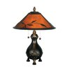 "Dale Tiffany Mica 22"" H Table Lamp with Empire Shade"
