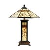 "<strong>Mission Hills 25"" H Table Lamp with Empire Shade</strong> by Dale Tiffany"