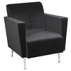Adesso Memphis Velvet Club Chair