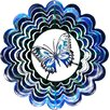 <strong>Next Innovations</strong> Eycatcher Kaleidoscope Butterfly Wind Spinner