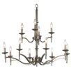 <strong>Wildon Home ®</strong> Hastings 12 Light Candle Chandelier