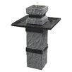 Wildon Home ® Bridge Outdoor Solar Fountain