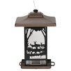 <strong>Perky Pet</strong> Wilderness Lantern Decorative Hopper Bird Feeder