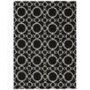 Nourison Waverly Art House Black Area Rug