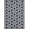 Nourison Carribean Navy/Ivory Area Rug