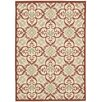 Nourison Carribean Ivory/Rust Area Rug