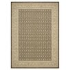 <strong>Nourison</strong> Persian Empire Chocolate Checked Rug