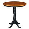 International Concepts Round Pedestal Table