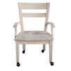 International Concepts Dining / Desk Arm Chair