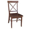 International Concepts X-Back Side Chair (Set of 2)