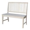 International Concepts Wood Entryway Bench