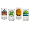 <strong>Upcycle Fun in Sun Highball Glass (Set of 4)</strong> by Artland