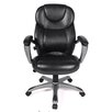 Comfort Products Granton Leather Executive Chair with Adjustable Lumbar