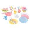 KidKraft Pastel 27 Piece Cookware Play Set