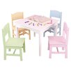 KidKraft Nantucket Kids' 5 Piece Table & Chair Set