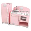 <strong>KidKraft</strong> 2 Piece Retro Kitchen & Refrigerator Set