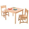 <strong>Aspen Kids' 3 Piece Table and Chair Set</strong> by KidKraft
