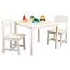 KidKraft Aspen Kid's 3 Piece Table & Chair Set