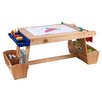 <strong>Table with Drying Rack and Storage</strong> by KidKraft