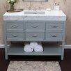 """Ronbow Newcastle 48"""" Bathroom Vanity Base in Ocean Gray"""