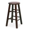 "Leick Furniture Favorite Finds 29"" Round Wood Bar Stool (Set of 2)"