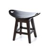 "Thoroughbred 20"" Backless Swivel Stool in Espresso"