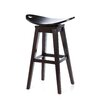 Carolina Accents Thoroughbred Adjustable Height Swivel Bar Stool