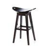 Carolina Accents Thoroughbred Adjustable Height Swivel Bar Stool
