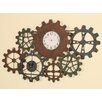 Passport Furniture Interlocking Wall Clock