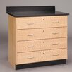 Diversified Woodcrafts Base Cabinet With Four Drawers