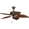 "Progress Lighting 52"" AirPro 5 Blade Indoor / Outdoor Ceiling Fan"