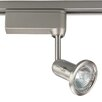 <strong>Alpha Trak Miniature Halogen Fixed Gimbal Track Head in Brushed Nickel</strong> by Progress Lighting
