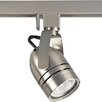 Progress Lighting Alpha Trak 120V Line Voltage Adjustable Slotted Back Cylinder Track Head in Brushed Nickel