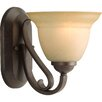 Progress Lighting Torino Wall Sconce in Forged Bronze