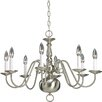 Americana 8 Light Candle Chandelier