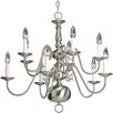 Progress Lighting Americana 10 Light Chandelier