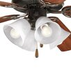 <strong>Air Pro Four Light Ceiling Fan Light Kit</strong> by Progress Lighting