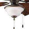 <strong>Progress Lighting</strong> Ashmore Two Light Bowl Ceiling Fan Light Kit
