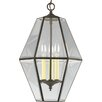 <strong>Progress Lighting</strong> Beveled Glass 3 Light Bound Foyer Pendant