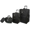 <strong>Geoffrey Beene</strong> Westchester 4 Piece Luggage Set