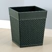 Onyx Wastebasket in Black