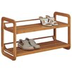 OIA 2 Tier Stackable Shoe Rack