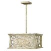 Hinkley Lighting Flourish 4 Light Chandelier