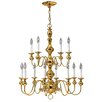 Hinkley Lighting Virginian 12 Light Chandelier