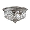 Hinkley Lighting Plantation 3 Light 60W Flush Mount