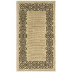 Safavieh Courtyard Ivoly / Black Outdoor Area Rug