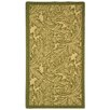 <strong>Safavieh</strong> Courtyard Natural/Olive Outdoor Rug
