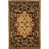 <strong>Safavieh</strong> Classic Royal Black/Beige Rug