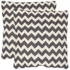 Safavieh Striped Tealea Decorative Pillow (Set of 2)